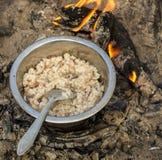 Ρύζι porrige Στοκ Εικόνες