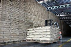 ρύζι sackful Στοκ Φωτογραφίες
