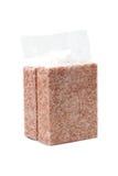 Ρύζι vacuum package Στοκ φωτογραφία με δικαίωμα ελεύθερης χρήσης