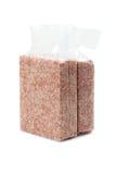 Ρύζι vacuum package Στοκ Φωτογραφίες