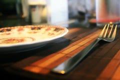 Ρύθμιση γεύματος Στοκ φωτογραφία με δικαίωμα ελεύθερης χρήσης