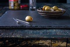 Ρύθμιση ελιών Στοκ φωτογραφίες με δικαίωμα ελεύθερης χρήσης