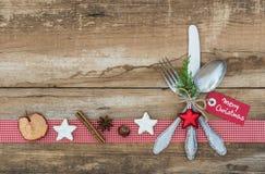 Ρύθμιση θέσεων Χριστουγέννων Στοκ φωτογραφία με δικαίωμα ελεύθερης χρήσης