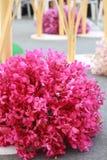 Ρύθμιση λουλουδιών έκθεσης Στοκ Εικόνες
