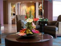 Ρύθμιση λουλουδιών με anthurium Στοκ φωτογραφία με δικαίωμα ελεύθερης χρήσης