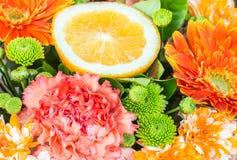 Ρύθμιση λουλουδιών Στοκ Φωτογραφίες