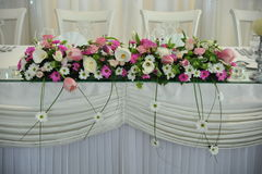 ρύθμιση λουλουδιών Στοκ εικόνα με δικαίωμα ελεύθερης χρήσης