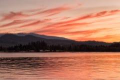 Ρύθμιση του σύννεφου tendrils Στοκ φωτογραφία με δικαίωμα ελεύθερης χρήσης