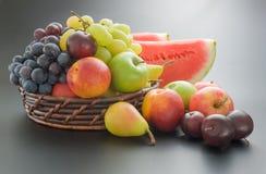 Ρύθμιση φρούτων Στοκ εικόνες με δικαίωμα ελεύθερης χρήσης