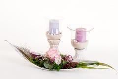ρύθμιση floral Στοκ φωτογραφίες με δικαίωμα ελεύθερης χρήσης