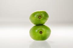Δύο Kiwiberries που συρράπτεται στοκ εικόνες