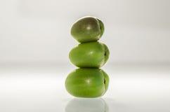 Ρύθμιση τριών Kiwiberries 2 στοκ φωτογραφία με δικαίωμα ελεύθερης χρήσης