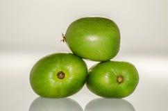 Ρύθμιση τριών Kiwiberries 3 στοκ εικόνες