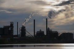 ρύπανση βιομηχανίας Στοκ εικόνα με δικαίωμα ελεύθερης χρήσης