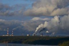 Ρύπανση βιομηχανίας Στοκ φωτογραφίες με δικαίωμα ελεύθερης χρήσης