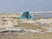 Ρύπανση θάλασσας Στοκ Φωτογραφίες