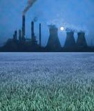 ρύπανση θαμπάδων Στοκ Εικόνες