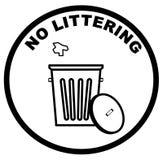 ρύπανση κανενός σημαδιού Στοκ εικόνα με δικαίωμα ελεύθερης χρήσης