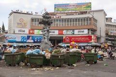 Ρύπανση στην πόλη DA Lat στο Βιετνάμ Στοκ Εικόνα