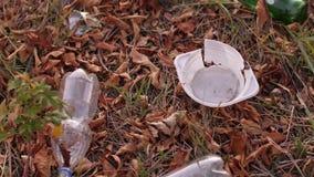 Ρύπανση της φύσης με το πλαστικό φιλμ μικρού μήκους