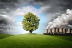 Ρύπανση του περιβάλλοντος Στοκ φωτογραφίες με δικαίωμα ελεύθερης χρήσης