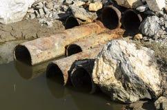 Ρύπανση λυμάτων στοκ εικόνα με δικαίωμα ελεύθερης χρήσης