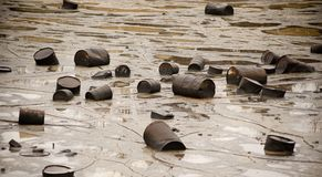 ρύπανση Στοκ εικόνες με δικαίωμα ελεύθερης χρήσης