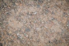 Ρύπος άμμου και βράχου gound για το υπόβαθρο σύστασης στοκ φωτογραφίες με δικαίωμα ελεύθερης χρήσης