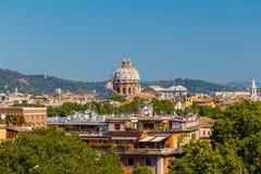 Ρώμη Άποψη της πόλης από το λόφο Aventine στοκ εικόνες με δικαίωμα ελεύθερης χρήσης