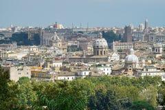Ρώμη από το ύψος Στοκ φωτογραφία με δικαίωμα ελεύθερης χρήσης