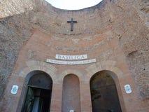 Ρώμη - βασιλική του degli Angeli της Σάντα Μαρία και των μαρτύρων Στοκ Εικόνες
