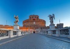 Ρώμη Γέφυρα Sant ` Angelo Στοκ φωτογραφία με δικαίωμα ελεύθερης χρήσης