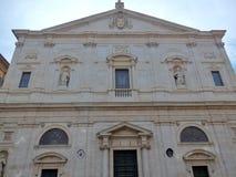 Ρώμη - εκκλησία του dei Francesi SAN Luigi Στοκ εικόνα με δικαίωμα ελεύθερης χρήσης