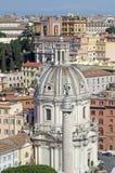 Ρώμη επάνω στην όψη Στοκ Εικόνες
