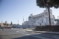 Ρώμη, λεπτομέρεια του βικτοριανού που βλέπει από τη σκάλα Arcoeli οδών Στοκ Εικόνες