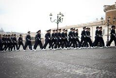 Ρώμη. Ημέρα Ένοπλων Δυνάμεων Στοκ φωτογραφία με δικαίωμα ελεύθερης χρήσης