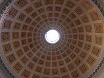 Ρώμη - θόλος της βασιλικής του degli Angeli της Σάντα Μαρία και των μαρτύρων Στοκ Εικόνες
