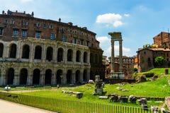 Ρώμη, Ιταλία - 26 Μαΐου 2018: Θέατρο Marcello στοκ φωτογραφίες με δικαίωμα ελεύθερης χρήσης