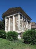 19 06 2017, Ρώμη, Ιταλία: Ναός της τύχης Virile Στοκ φωτογραφίες με δικαίωμα ελεύθερης χρήσης
