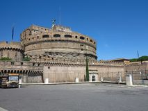 19 06 2017, Ρώμη, Ιταλία: Το κάστρο του ιερού αγγέλου, Αδριανός Μ Στοκ Φωτογραφίες