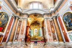 Ρώμη, Ιταλία - βασιλική της Σάντα Μαρία Degli Angeli Ε Dei Martiri Στοκ φωτογραφίες με δικαίωμα ελεύθερης χρήσης