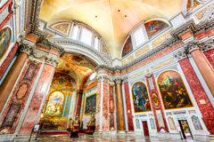 Ρώμη, Ιταλία - βασιλική της Σάντα Μαρία Degli Angeli Ε Dei Martiri Στοκ φωτογραφία με δικαίωμα ελεύθερης χρήσης