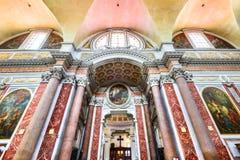 Ρώμη, Ιταλία - βασιλική της Σάντα Μαρία Degli Angeli Ε Dei Martiri Στοκ Φωτογραφία