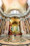 Ρώμη, Ιταλία - βασιλική της Σάντα Μαρία Degli Angeli Ε Dei Martiri Στοκ εικόνα με δικαίωμα ελεύθερης χρήσης
