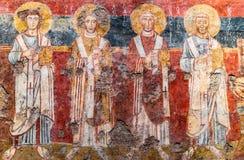 Ρώμη Ιταλία - εκκλησία της Σάντα Μαρία Antiqua Στοκ εικόνες με δικαίωμα ελεύθερης χρήσης