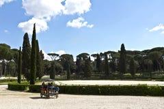 Ρώμη, Ιταλία - ιππόδρομος Borghese βιλών Στοκ φωτογραφία με δικαίωμα ελεύθερης χρήσης