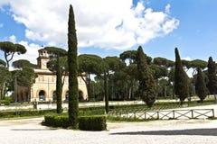 Ρώμη, Ιταλία - ιππόδρομος Borghese βιλών Στοκ φωτογραφίες με δικαίωμα ελεύθερης χρήσης