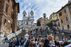 Πλατεία Di spagna στη Ρώμη Στοκ φωτογραφία με δικαίωμα ελεύθερης χρήσης