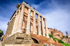 Ρώμη, Ιταλία - ρωμαϊκό φόρουμ Στοκ Φωτογραφίες