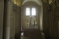 Ρώμη Ιταλία στις 18 Ιουνίου 2016 Φτερωτό άγαλμα νίκης στο della Patria Monumen Altare Στοκ Φωτογραφία